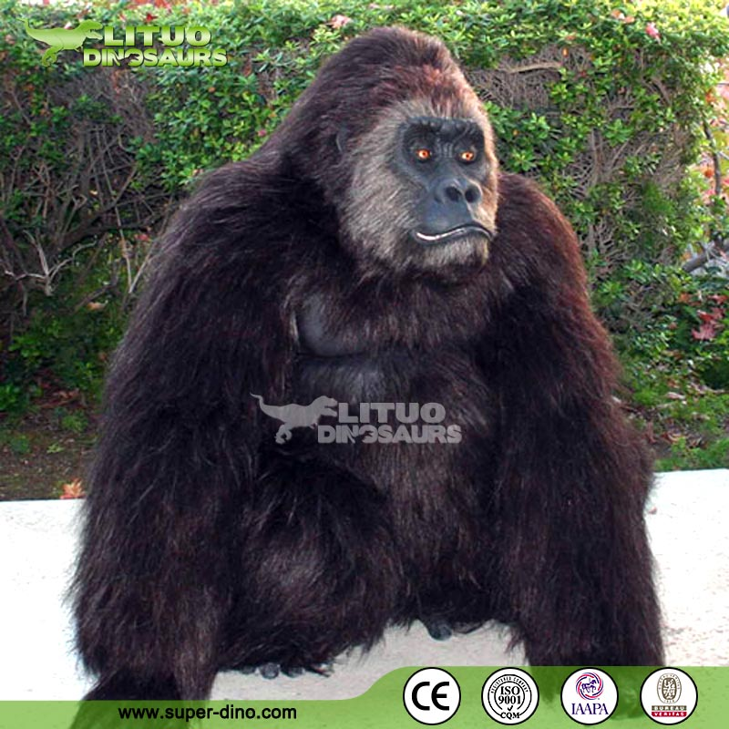 & Gorilla Costume #01_lituo animatronic dinosaurs manufacturer